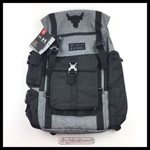 Under Armour Project Rock Backpack Regiment Grey
